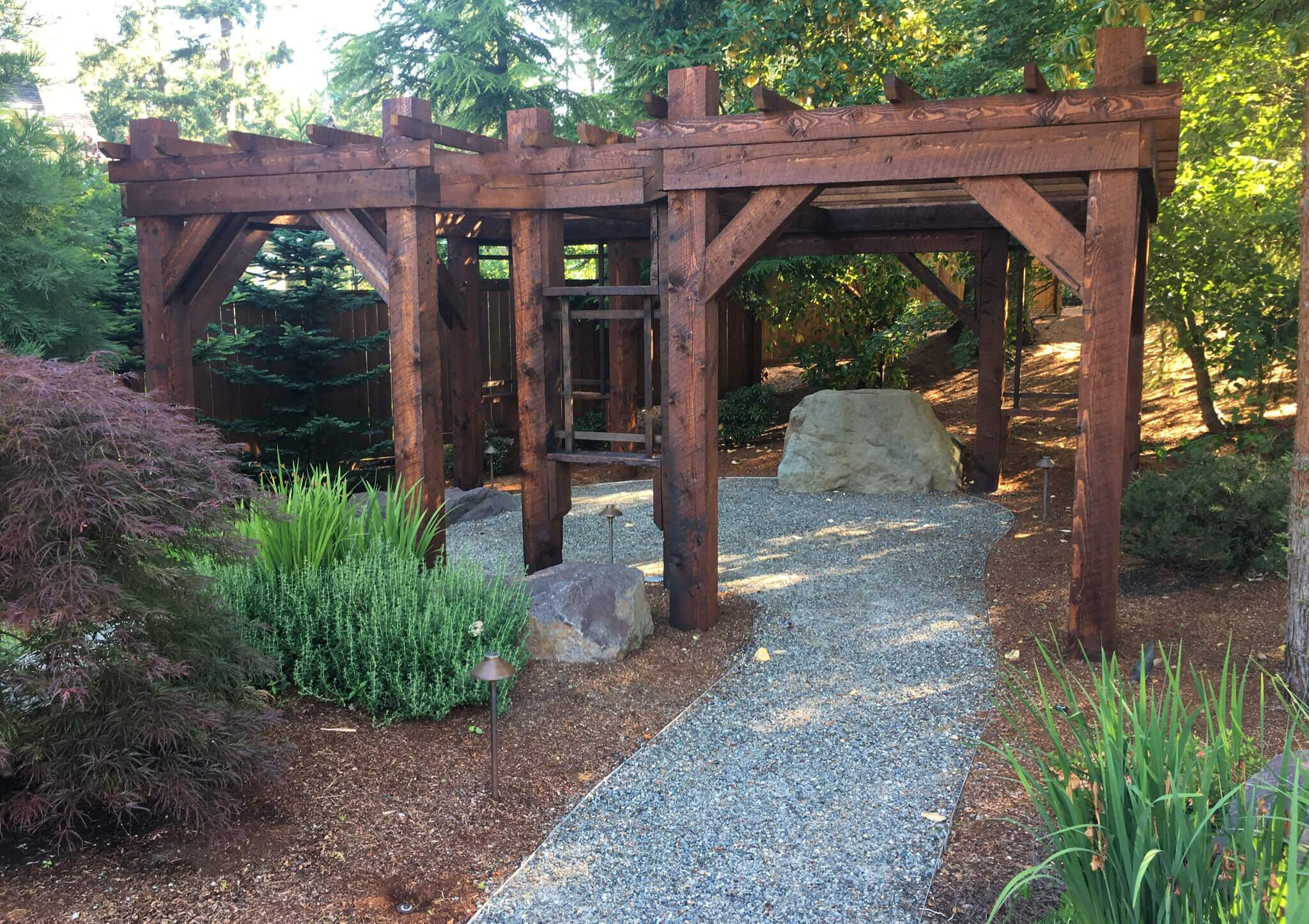 Artistic Large Arbor Zen Garden
